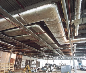 3 Amazingly Simple Ways to Fix Old or Damaged Internal Commercial Air Duct Insulation